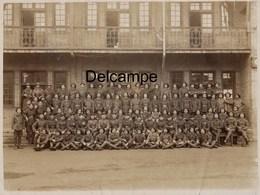 Grande Photo : Compagnie Tirailleurs Indochinois , N° 103 Et Ancre Coloniale Au Col ? 1918/ 1920 - Oorlog, Militair