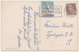 Denmark 1960, Christmas Card, Julemaerke, Christmas Stamp, Vignet, Poster Stamp - Denemarken