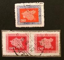 TAIWAN Formose 1957 YT N°226-242 - Gebraucht
