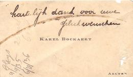 Visitekaartje - Carte Visite - Karel Bockaert - Aalter - Cartes De Visite