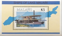 Malawi 1994 Ships Of Lake Malawi S/S - Malawi (1964-...)