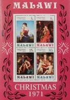 Malawi 1971 Christmas S/S - Malawi (1964-...)