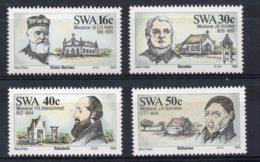 South West Africa - 1989 - Missionaries - MNH - Afrique Du Sud-Ouest (1923-1990)