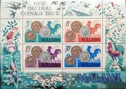 Malawi 1971 Decimal Coins S/S - Malawi (1964-...)