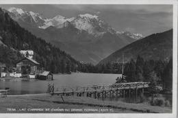 CHAMPEX → Lac Champex Et Châine Du Grand Combin Anno 1925 - VS Wallis