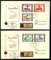 AUTRICHE - ANNIVERSAIRE DE LA 2. RÉPUBLIQUE - 1955 - 1945-60 Briefe U. Dokumente