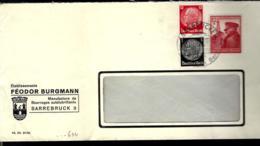 LETTRE DE SAAREBRÜCKEN - 1939 - - Briefe U. Dokumente