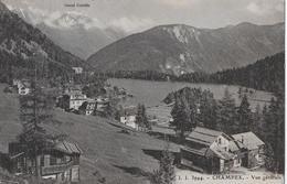 CHAMPEX → Lac Champex, Belle Carte Anno 1928 - VS Wallis