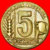 # BULL (1942-1950): ARGENTINA ★ 20 CENTAVOS 1949! LOW START ★ NO RESERVE! - Argentine