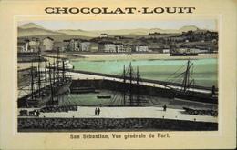 Chromo & Image > Chromo > - CHOCOLAT LOUIT - San Sebastian - En TB. état - Louit