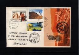 Brazil 1992 Interesting Airmail Letter - Brasilien