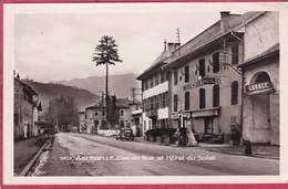 CPSM 73 AIGUEBELLE La Grande Rue Et Hôtel Du Soleil  Garage   * Format CPA  ( L101 - Aiguebelle