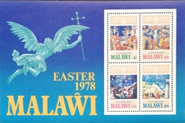 Malawi  EASTER 1978 S/S - Malawi (1964-...)