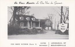 Longueuil Et Boucherville, Quebec , Canada , 40-50s ; Le Chez Vous Des Gourmets - Quebec