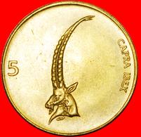 # SLOVAKIA: SLOVENIA ★ 5 TOLARS 1994 MINT LUSTER! LOW START ★ NO RESERVE! - Serbie