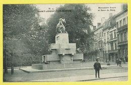 * Sint Joost Ten Node - Saint Josse (Bruxelles) * (L. Lagaert, Nr 5) Monument Steurs Et Eaux Du Bocq, Animée, Rare - St-Josse-ten-Noode - St-Joost-ten-Node