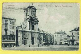 * Sint Joost Ten Node - Saint Josse (Bruxelles) * (Imp Heiss & Co Cologne 1907) église Et Place St Josse, Animée, TOP - St-Josse-ten-Noode - St-Joost-ten-Node