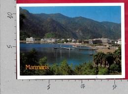 CARTOLINA VG TURCHIA - MARMARIS - A View From Icmeler - 11 X 16 - ANN. 1996 - Turchia