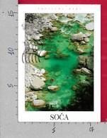 CARTOLINA VG SLOVENIA - SOCA - Kayaking Along The Turquoise Pools - 11 X 16 - ANN. 1999 - Slovenia
