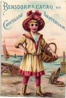 14  Chromo Litho Publiciteit Chocolat Chokolade BENSDORP, Losse Reklame Plaatjes Uit Reeksen Rond 1890 à 1900 - Chocolade