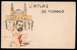 SATIRE   L'ATLAS DE MONACO - Monaco
