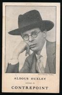 ALDOUS HUXLEY - Writers