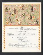 Telegram - Télégramme -  RTT België - Nr. B21 (VL) (OD 016) - Faire-part