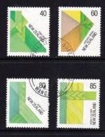 New Zealand 1987 Celebration Of Visual Arts - Fibre Set Of 4 Used - New Zealand