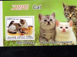 693367969 KOREA NORHT POSTFRIS MINT NEVER HINGED POSTFRISCH EINWANDFREI SCOTT 4906A CATS COMPLETE BOOKLET - Corée Du Nord