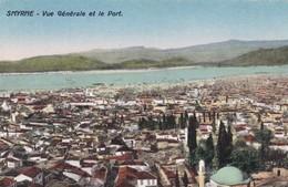 Postcard Smyrne Vue Generale Et Le Port [ Izmir ] Turkey My Ref  B12738 - Turkey