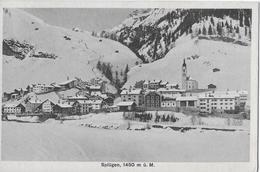 SPLÜGEN → Generalansicht Im Winter Anno 1915 - GR Graubünden