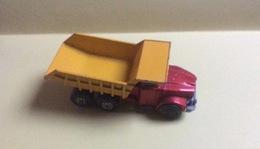 Miniature Camion À Benne Scamell Contractor - Matchbox - Lesney Production - Autres Collections