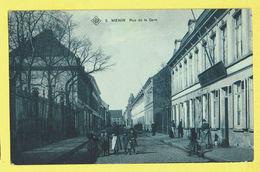 * Menen - Menin * (SBP, Nr 5) Rue De La Gare, Enfants, Très Animée, Rare, Old, TOP, Unique, Prachtkaart, Zeldzaam - Menen