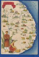 LAOS ANNAM     Carte Géographique - Cartes Géographiques
