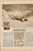 1939 : Document, SAINT-MARTIN-VESUBIE, Col De La Valette, Haut Boréon, La Colmiane, Les Adus, Vallon De Salèzes... - Vieux Papiers