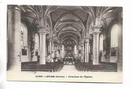 25 - LEVIER ( Doubs ) - Intérieur De L' Eglise - France