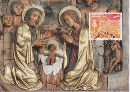 Liechtenstein Glückwunschkarte / Christmas Card 2018 - The Holy Family - Angel - Star - Non Classés