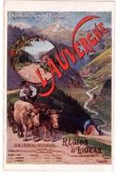 """3676 - L'auvergne - Cp Publicitaire Des """" Chemins De Fer D'Orléans """" - ( Affiche ) - F.Champenois Imp. - - Auvergne"""