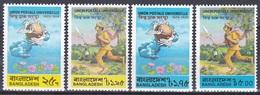 Bangladesch Bangladesh 1974 Organisationen Postwesen Weltpostverein UPU Postläufer, Mi. 45-8 ** - Bangladesch