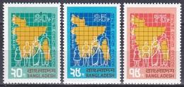Bangladesch Bangladesh 1974 Staatswesen Verwaltung Volkszählung Census Landkarte Familie, Mi. 38-0 ** - Bangladesch