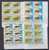 Greece 1990 Endangered Animals 4v Bl Of 6 ** Mnh (41602A) - Griekenland