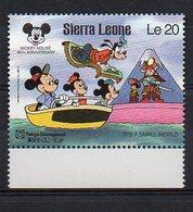 SIERRA LEONE. DISNEY. MNH (2R1649) - Disney