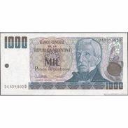 TWN - ARGENTINA 317b - 1000 1.000 Pesos Argentinos 1983-85 Serie D - Signatures: Lopez & Vazquez UNC - Argentina