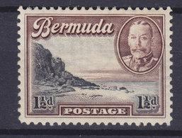 Bermuda 1936 Mi. 91    1½p. South Shore Der Hauptinsel & King George VI., MH* - Bermuda