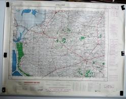 Carte Etat Major Challans (Vendée) Type M - 1/50000ème Feuille XI - 25  Institut Géographique National (IGNF) 1960 - Cartes Topographiques