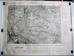 Carte Etat Major Chantonnay (Vendée) Type M - 1/50000ème Feuille XIV - 26  Institut Géographique National (IGNF) 1953 - Topographische Kaarten