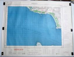 Carte Etat Major Longeville  (Vendée) Type M - 1/50000ème Feuille XII - 28  Institut Géographique National (IGNF) 1959 - Cartes Topographiques