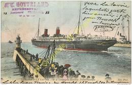 Le Steamer LA SAVOIE De La Compagnie Générale Transatlantique . - Le Havre