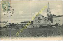 38.  OYTIER SAINT OBLAS . Vue Prise De La Route De Septème . - Autres Communes