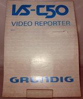 GRUNDIG VS-C50 MANUALE - Videocamere